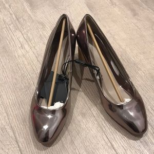 Zara mid heels shoes size 8 or 39euro, new